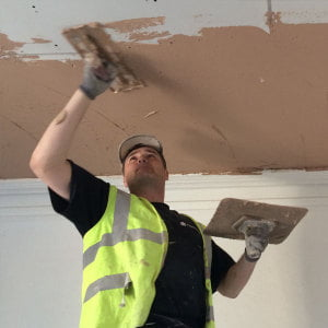 Plastering of Lath and Plaster Ceiling