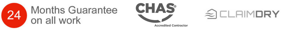 24 Months Guarantee on all work. Accreditations: Checkatrade, and CHAS.