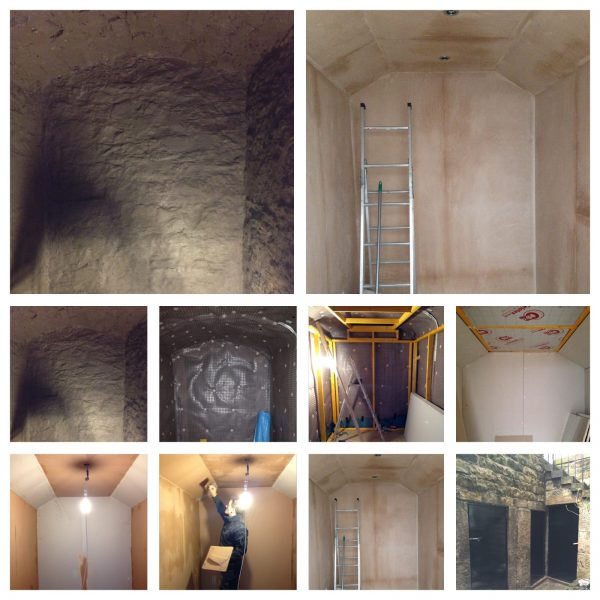 Cellar Conversion by INSUREPAIR