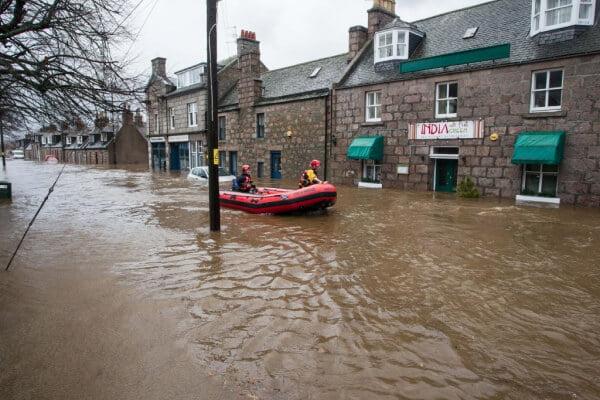 Ballater floods