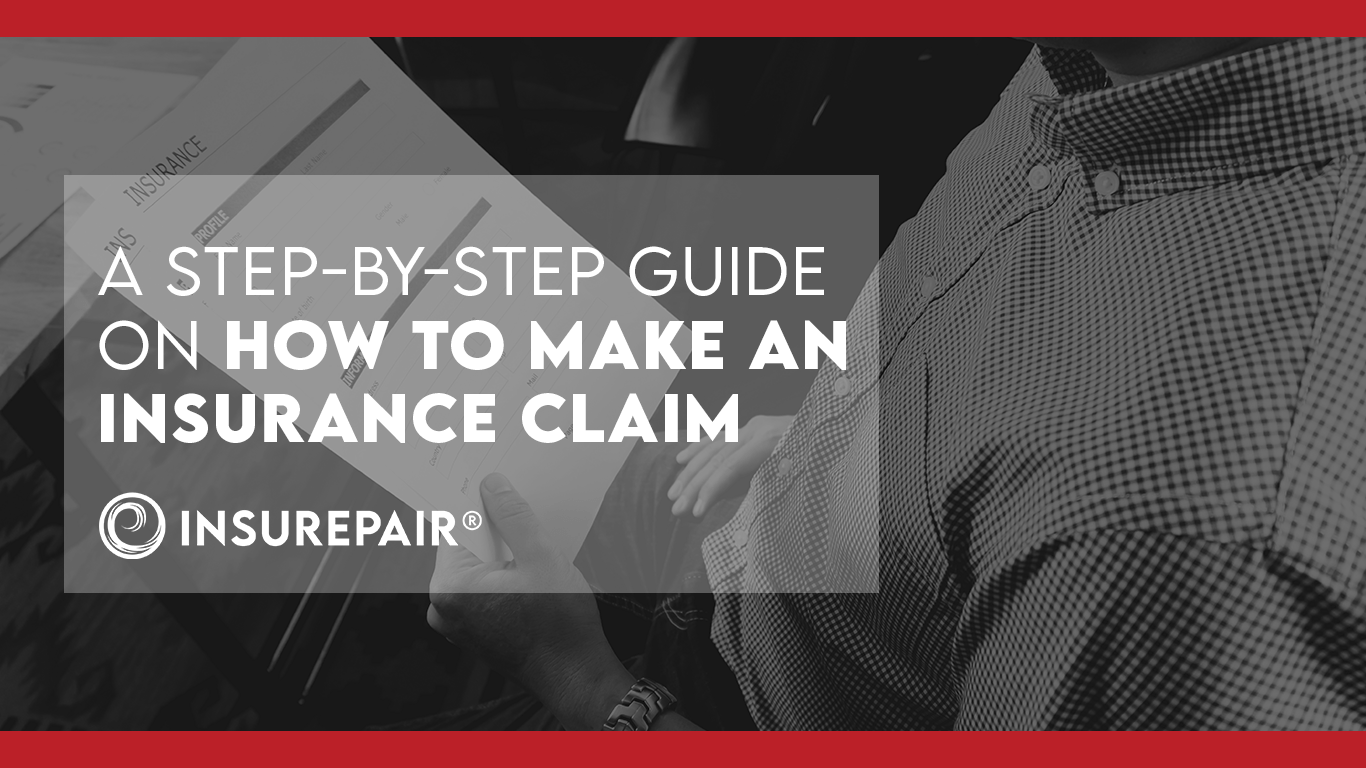 A step-by-step guide on how to make an insurance claim